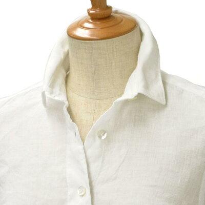 Finamore リネンシャツ
