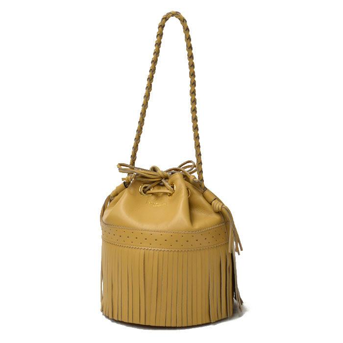 J&M DAVIDSON【ジェイアンドエムデヴィッドソン/ジェイアンドエムデビッドソン】ショルダーバッグ L CARNIVAL 815-7314 225 carf leather SAND(サンドベージュ):Cinq essentiel