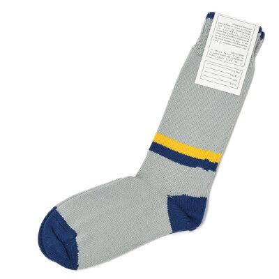 CORGI 3stripe leg sock cotton GRAY
