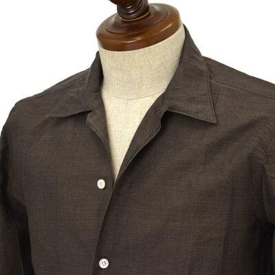 Finamore (フィナモレ)オープンカラーシャツ