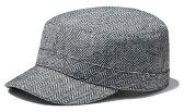 イーケーバイニューエラ ワークキャップ ブリゲード ウールヘリンボーン グレー EK by New Era Work Cap Brigade Wool Herringbone Gray(Grey)【あす楽対応_近畿】【あす楽対応_中国】【あす楽対応_四国】【あす楽対応_九州】