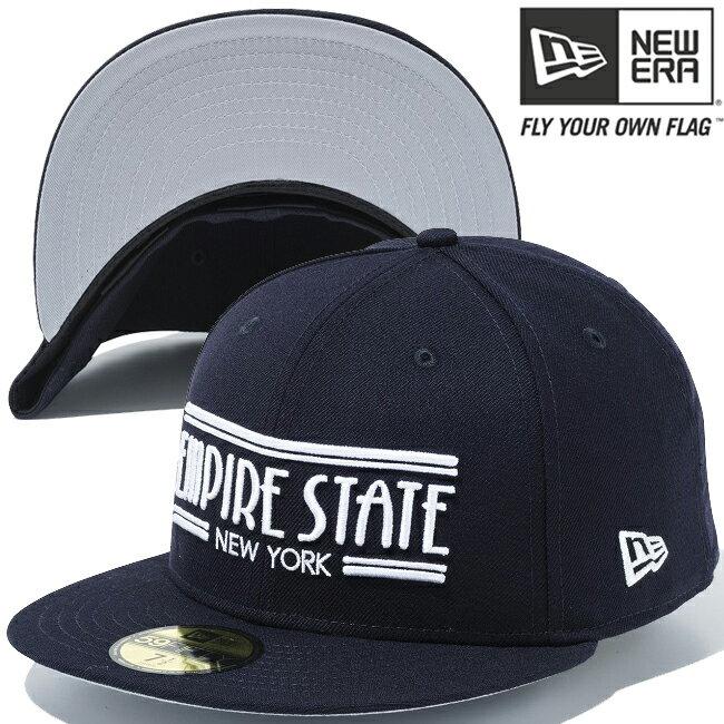 メンズ帽子, キャップ  5950 New Era 59FIFTY Cap White Logo Empire State New York Navy Navy