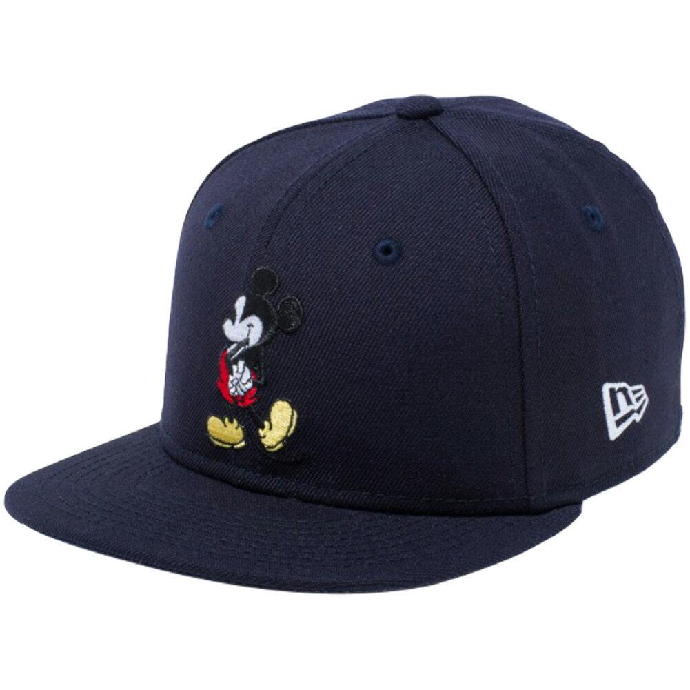 帽子, キャップ  950 DisneyNew Era 9FIFTY Child Snap Back Cap Mickey Mouse Navy