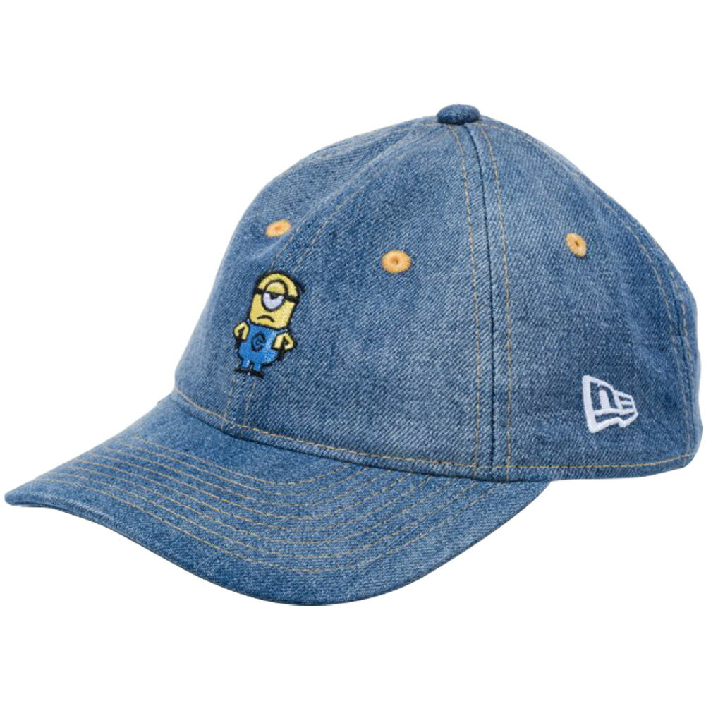 帽子, キャップ  920 Despicable Me MinionNew Era 9TWENTY Kids Cap Cloth Strap Mel