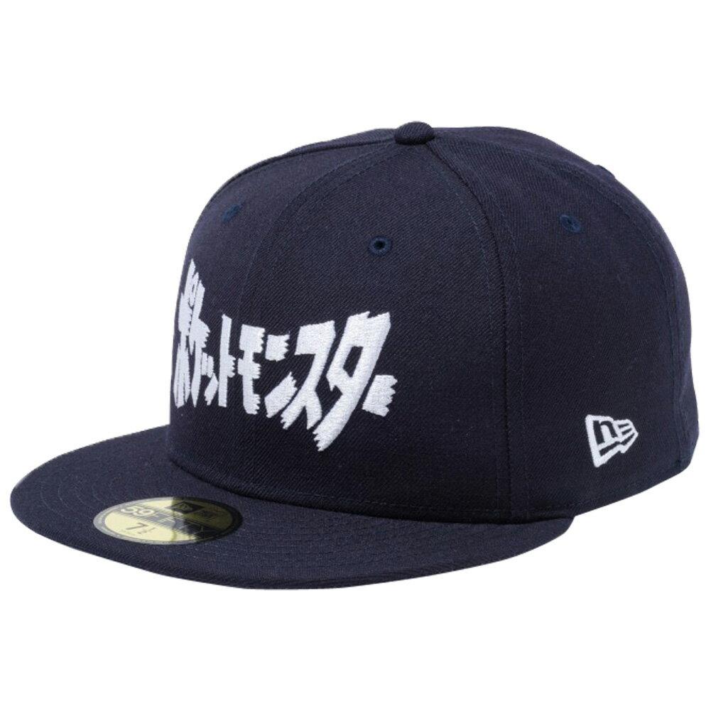 メンズ帽子, キャップ  5950 PokemonNew Era 59FIFTY Cap White Logo Katakana Logo Navy Snow White