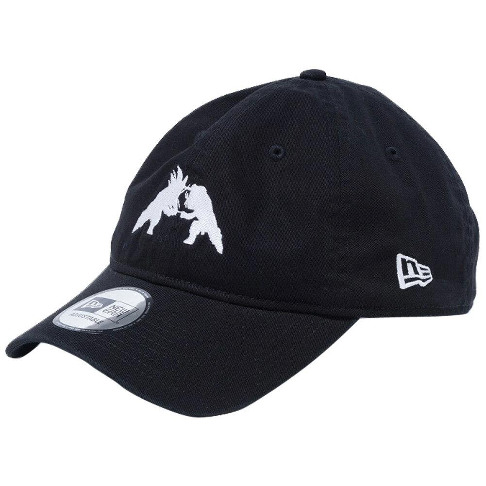 メンズ帽子, キャップ Z 930 DRAGONBALL ZNew Era 9THIRTY Cap Cloth Strap Fusion Black Snow White