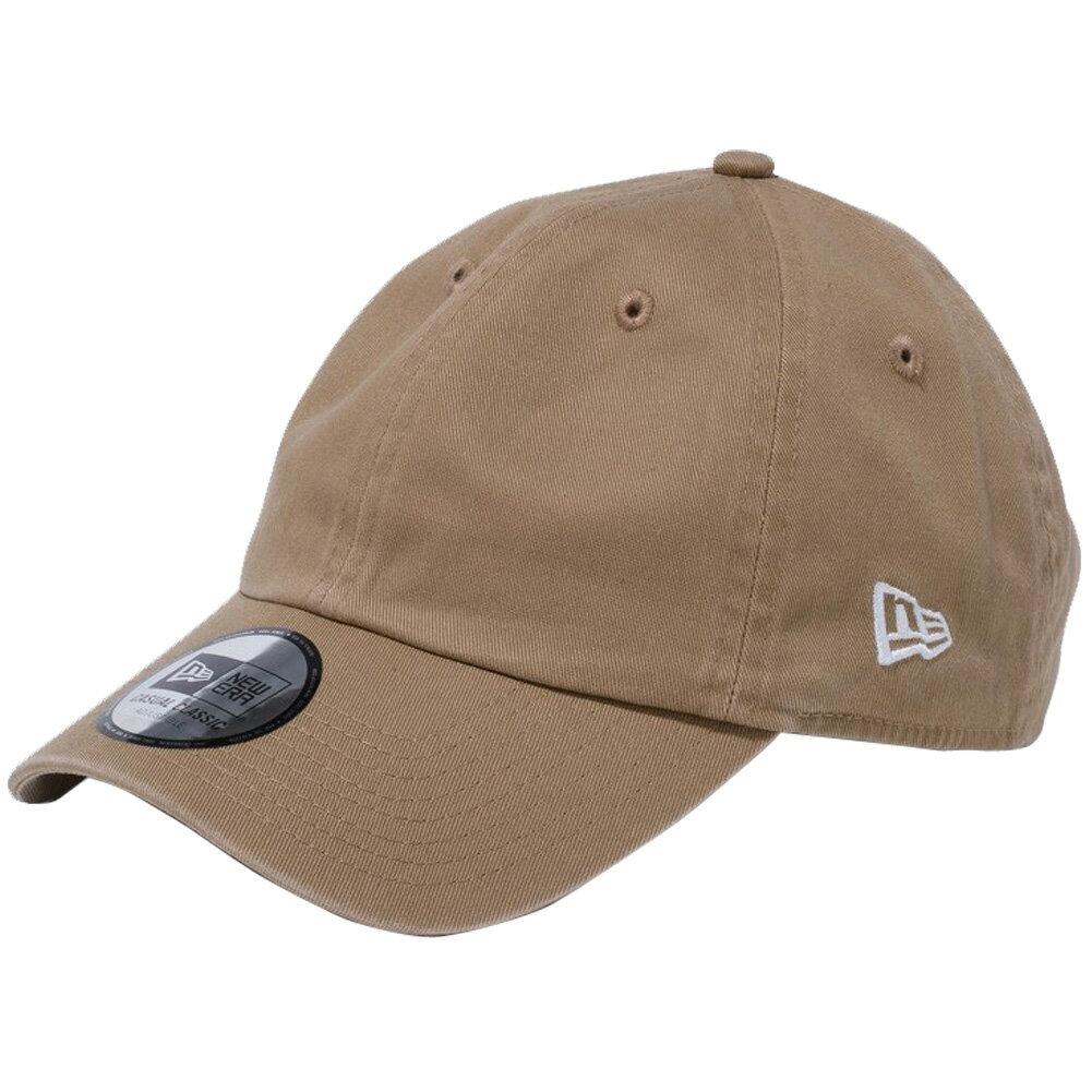 メンズ帽子, キャップ  New Era Casual Classic Cap Easy Snap Khaki Snow White