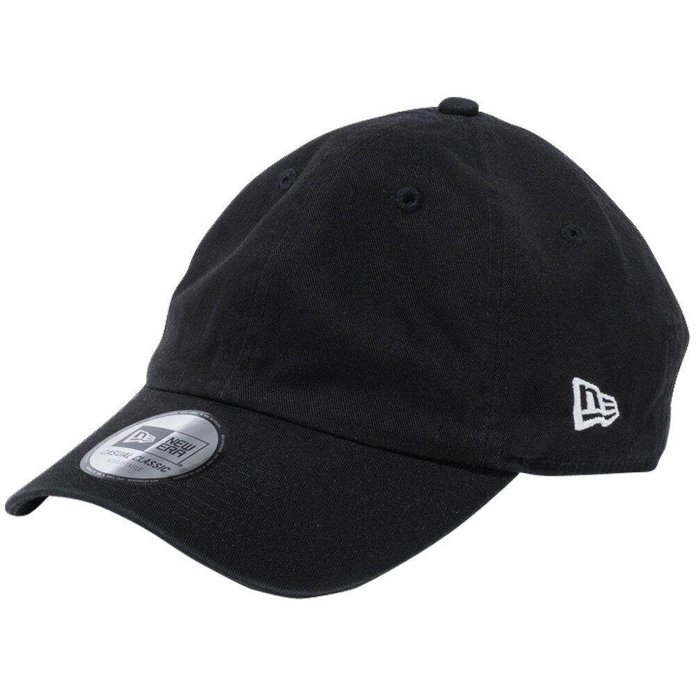 メンズ帽子, キャップ  New Era Casual Classic Cap Easy Snap Black Snow White