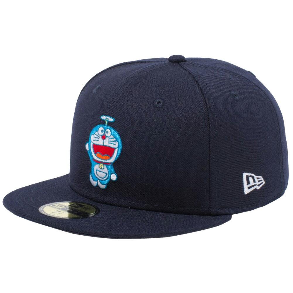メンズ帽子, キャップ  5950 Doraemon New Era 59FIFTY Cap Multi Logo Navy Multi Color Snow White