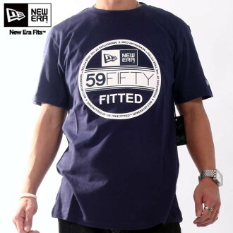 New era S/S T shirt INSP basic visor tea light Navy / white New Era SS TEE INSP Basic Visor Tee Light navy/White
