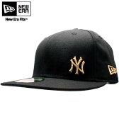 ニューエラ キャップ フローレス ニューヨーク ヤンキース ブラック/ゴールドNew Era Cap FLAWLESS New York Yankees Black/Gold【あす楽対応_近畿】【あす楽対応_中国】【あす楽対応_四国】【あす楽対応_九州】