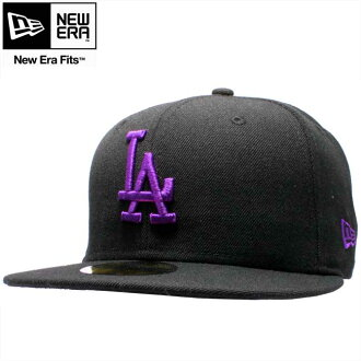 New era Cap パープルロゴ Angeles Dodgers black / deep magenta New Era Cap Purple Logo Los Angeles Dodgers Black/Deep Magenta
