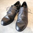 PADRONE パドローネ メンズ DERBY PLAIN TOE SHOES / JACK ジャック BLACK ブラック PU7358-2001-11C ダービープレーントゥ 革靴