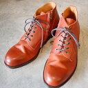PADRONE パドローネ メンズ  CHUKKA BOOTS with SIDE ZIP / BAGGIO チャッカブーツ バッジオ CAMEL キャメル PU7358-1205-13D 革靴