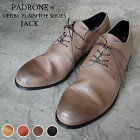 PADRONEパドローネPU7358-2001-11CDERBYPLAINTOESHOES/JACK