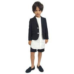 【スムージー/SMOOTHY/子供服/ジュニア/男の子/女の子】 セットアップ(ショートパンツ) ダークネイビー