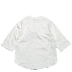 【GENERATOR/ジェネレーター/ジュニアサイズ/子供服/こども服】7分袖丈Tシャツホワイト(WH)