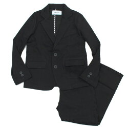 【GENERATOR/ジェネレーター/ジュニアサイズ/子供服/こども服】 ツイルストレッチスーツ ブラック(BK)