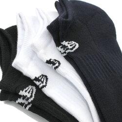 【ニューエラキッズ/NEWERAKIDS/キッズ/帽子】3PAIRSSHORTSOCKS(MALTI)マルチa210a