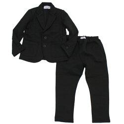 【GENERATOR/ジェネレーター/ジュニアサイズ/子供服/こども服】 ダブルフェイススーツ(吸水速乾) ブラック(BK)