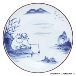 【★限定プレゼント】amabroアマブロMoominムーミンSOMETSUKE染付Fishing