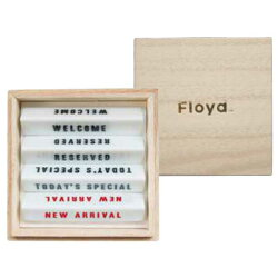 FloydフロイドTABLESIGNCUTLERYRESTテーブルサインカトラリーレスト4PCS(WELCOME/RESERVED/TODAY'SSPECIAL/NEWARRIVAL)FL02-01820