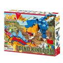 LaQ ラキュー Dinosaur World ダイナソーワールド ディノキングダム 980pcs+8pcs