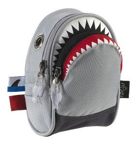 サメのポーチMORN CREATIONS モーンクリエイションズ シャークポーチ ナイロン グレー /SK-105G...