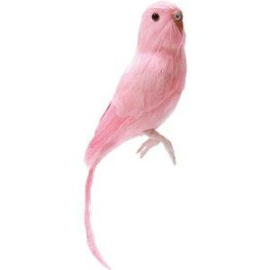 小鳥のオブジェプエブコ PUEBCO ARTIFICIAL BIRDS バードオフジェBudgieセキセイインコ・ピンク...