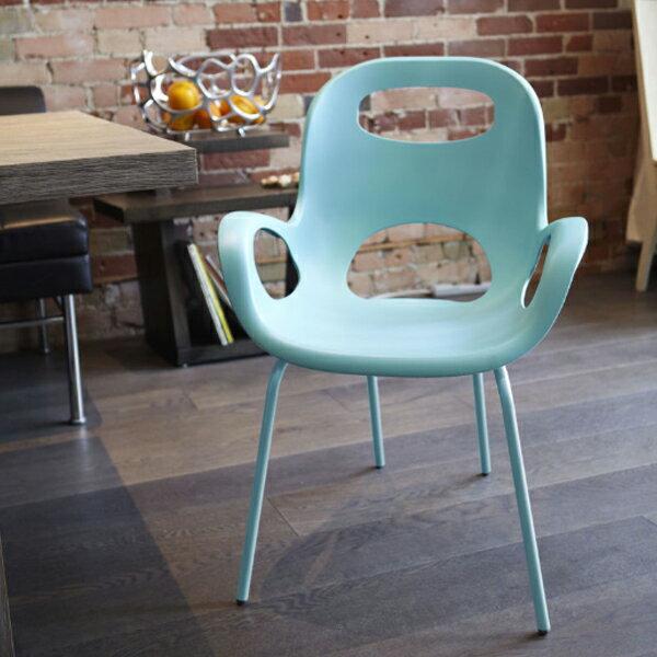 アンブラ umbra オーチェア カラー Oh Chair Color サーフブルー 2320150-276 ※沖縄および離島配送不可【ラッピング不可】