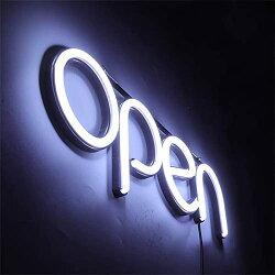 OPEN看板ネオン管アメリカンアンティークNEONオープンSIGNLED看板お洒落オシャレおしゃれヴィンテージ欧米壁掛けインテリアbar