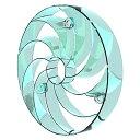 山善 扇風機アタッチメント 快風 強マリーナ YA-U28(BL)