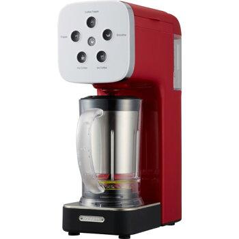 【12/2出荷予定】コーヒーメーカーミキサーソルーナクワトロチョイスベリーレッドQCR-85A-WHコーヒーフラッペメーカー赤氷OKスムージーグリーンスムージーブレンダースムージーメーカーアイスコーヒーメーカー【送料無料】