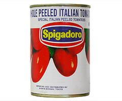 トマト缶 トマト缶詰 ホールトマト 缶詰め スピガドーロ イタリア産 イタリア食材 トマト 缶詰 ...