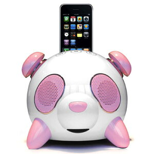 iPod/iPhone4/iPhone3 3GS/iPod touch用Docスピーカー iphone スピーカー ピンク おしゃれ かわ...