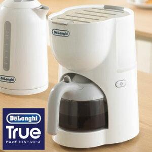 デロンギ DeLonghi コーヒーメーカー Trueトゥルー シリーズ 白 ホワイト CM200J-WH 一人暮らし...
