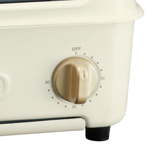 P10倍 あす楽 【IKEAボウル&プレートsetおまけ】BRUNO トースターグリル ホワイト レシピ付 ブルーノ BOE033-WH トースター&グリル 白 卓上 おしゃれ かわいい 一人暮らし オーブン 電気 オーブントースター 2枚 魚焼きグリル 母の日 プレゼント ギフト おすすめ