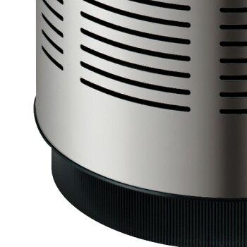 空気清浄機PM2.5対応22畳タイプカドーAP-C200PSステンレススリムパワフルタワー型cado空気清浄器コンパクトおしゃれシルバーデザイン家電タワー型タバコ花粉ほこりハウスダストPM2.5【送料無料】