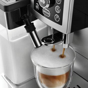 デロンギ全自動コーヒーメーカーコンパクト全自動カプチーノメーカー・コーヒーマシン・エスプレッソマシンマグニフィカSカプチーノECAM23460S