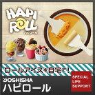 ロールアイスメーカーアイスクリームメーカーハピロールドウシシャDOSHISHADHRL-17BR[○/○入荷]