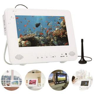 PROVE9インチ地デジ防水ポータブルDVDプレーヤーDVDプレイヤーフルセグ搭載防水テレビテレビTVIT-09MDF1-IP