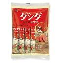【本場韓国の味!!】 料理全般に使える調味料 牛肉ダシダ スティックタイプ【メーカー直送・正規品】
