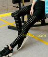 ダンス衣装ヒップホップレギンスブラック送料無料ウエストゴム楽ちん黒スキニーレースレディース韓国ファッションヨガフィットネス