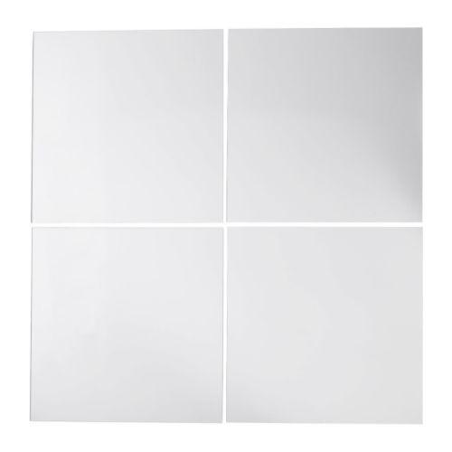 IKEA イケア LOTS ミラー/ 4 ピース a10172816
