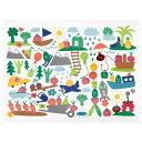 IKEA イケア ランチョンマット 果物 野菜 模様 マルチカラー 40x30cm n30426935 MATVRA