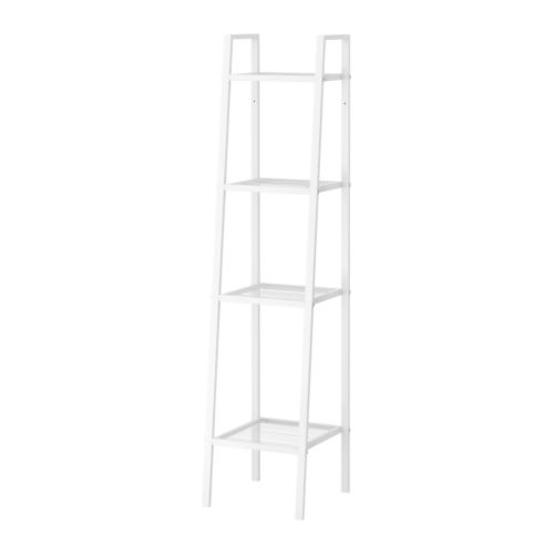 IKEA イケア LERBERG レールベリシェルフユニット ホワイト 白 35x148cm b00168527
