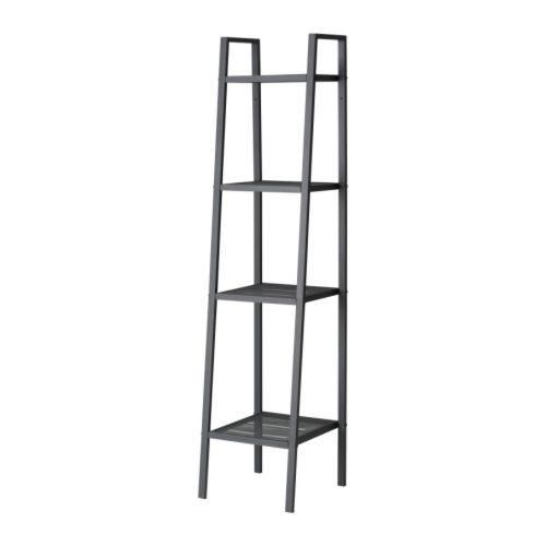 IKEA イケア LERBERG レールベリシェルフユニット ダークグレー 35x148cm b20186399