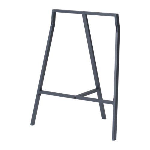 IKEA イケア LERBERG 架台 グレー 70x60cm b30167791