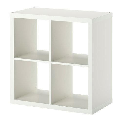 IKEA イケア KALLAX シェルフユニット ホワイト 白 b70351886