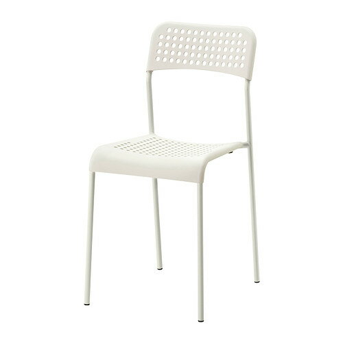 IKEA イケア ADDE チェア ホワイト 白 c90219179